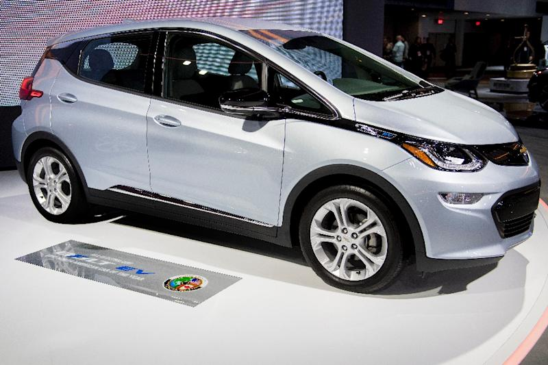 The all-electric Chevrolet Bolt EV, with a range of 238 miles (380 kilometers) on a charge, comes in under $30,000 -- after a federal tax rebate