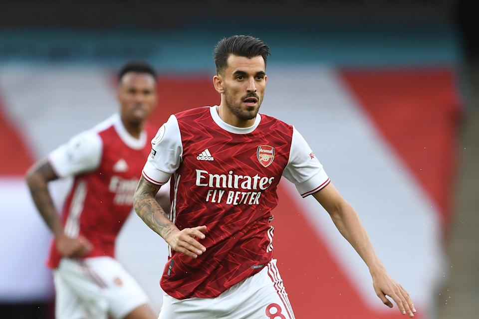 <p>Dani Ceballos spent two seasons on loan at Arsenal from Real Madrid</p> (Arsenal FC via Getty Images)