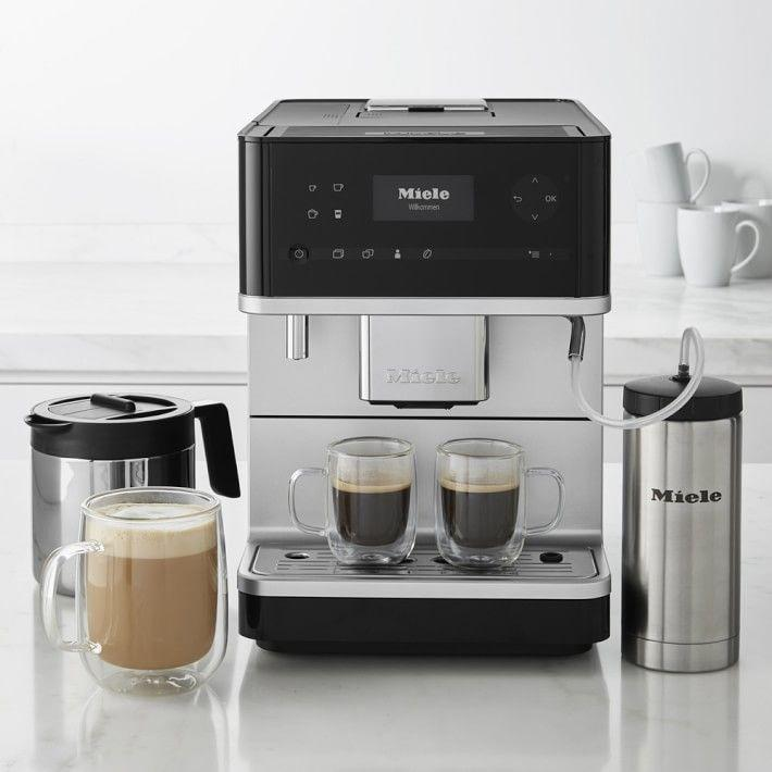 """<p><strong>Miele CM6350 Coffee Maker Graphite Grey</strong></p><p>williams-sonoma.com</p><p><strong>$2099.95</strong></p><p><a href=""""https://go.redirectingat.com?id=74968X1596630&url=https%3A%2F%2Fwww.williams-sonoma.com%2Fproducts%2Fmiele-cm6350-countertop-coffee-machine-with-milk-frother&sref=https%3A%2F%2Fwww.veranda.com%2Fluxury-lifestyle%2Fg36531021%2Fmemorial-day-sales-2021%2F"""" rel=""""nofollow noopener"""" target=""""_blank"""" data-ylk=""""slk:Shop Now"""" class=""""link rapid-noclick-resp"""">Shop Now</a></p><p>After more than a year of doing life almost exclusively at home, it's time to refresh your knife collection and invest in a new espresso machine. Williams Sonoma is offering 20 percent off Shun Classic Knives and $200 off Miele Fully Automatic Espresso Machines. </p>"""