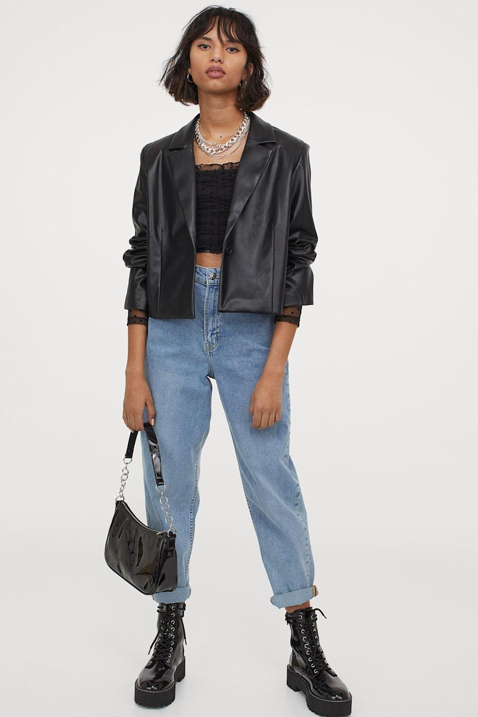 <p>The cropped fit of this <span>Short Jacket</span> ($35) makes it so modern.</p>