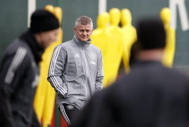 Ole Gunnar Solskjaer is set to make changes at Carrow Road (Martin Rickett/PA)