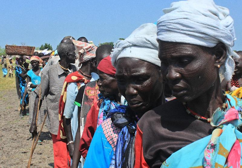 At least 40,000 people are being starved to death in South Sudan war zones, the UN says (AFP Photo/)