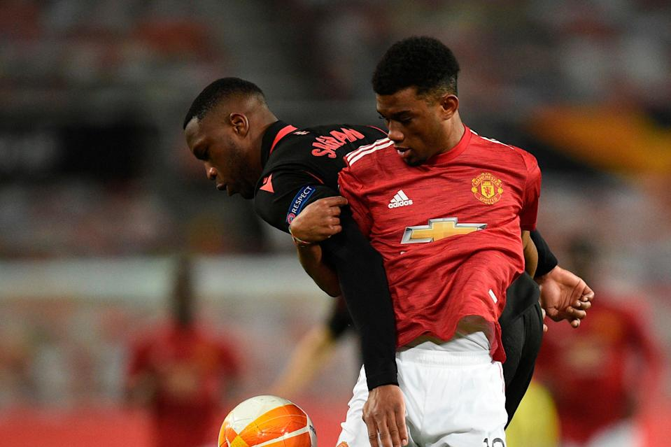 <p>Amad Diallo on for Man Utd</p> (AFP via Getty Images)