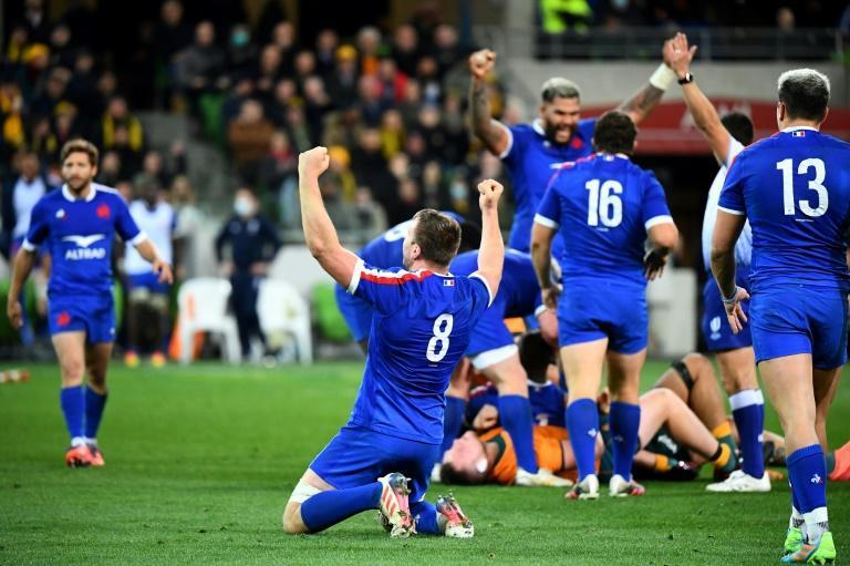 France won in Australia for the first time in 31 years