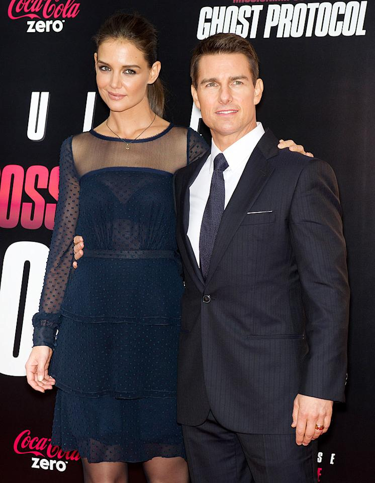 "Tom Cruise ""forbade"" Katie Holmes from doing a ""Dawson's Creek"" reunion movie, reports <i>Us Weekly,</i> which reveals it was among the reasons they split. While Holmes really ""wanted to do the movie,"" Cruise said ""absolutely no way."" For why he ""nixed the idea,"" and how it contributed to Holmes' divorce filing, see what a Cruise pal admits to <a target=""_blank"" href=""http://www.gossipcop.com/tom-cruise-dawsons-creek-reunion-movie-katie-holmes-fight/"">Gossip Cop</a>."