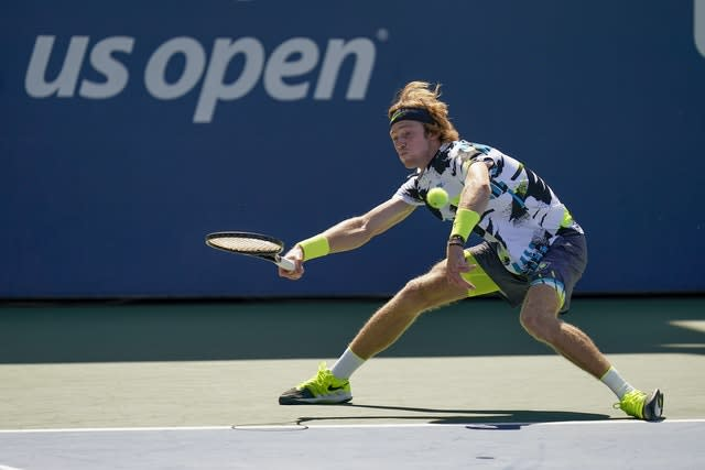 Andrey Rublev has been in fine form in New York