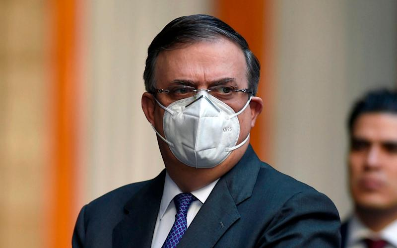 Marcelo Ebrard, Mexico's foreign minister, said his office is investigating the allegations - GETTY IMAGES