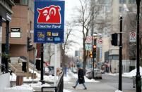 A Couche-Tard convenience store is seen in Montreal