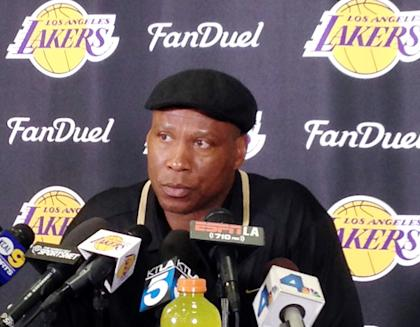 Is Byron Scott the right coach to lead the Lakers? (AP)