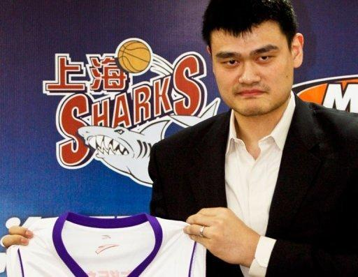 The Shanghai Sharks, which is partly owned by Yao Ming, were scheduled to play two games in Manila this month
