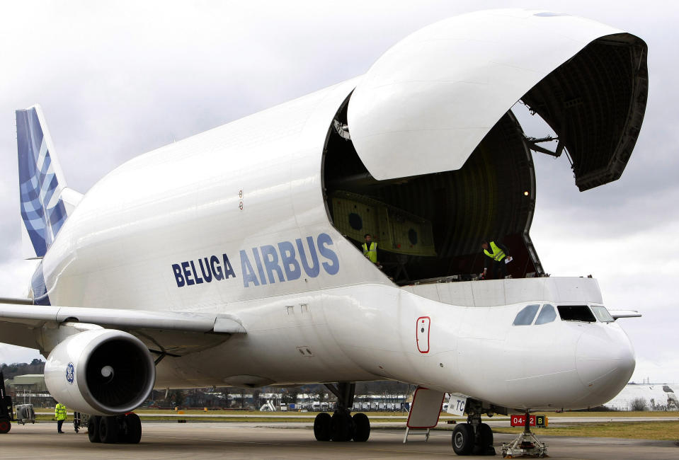 Airbus said in June that it was likely to cut 5,000 posts in France, 5,100 in Germany, 900 in Spain, 1,700 in the UK, and 1,300 elsewhere by mid-2021. Photo: Phil Noble/Reuters