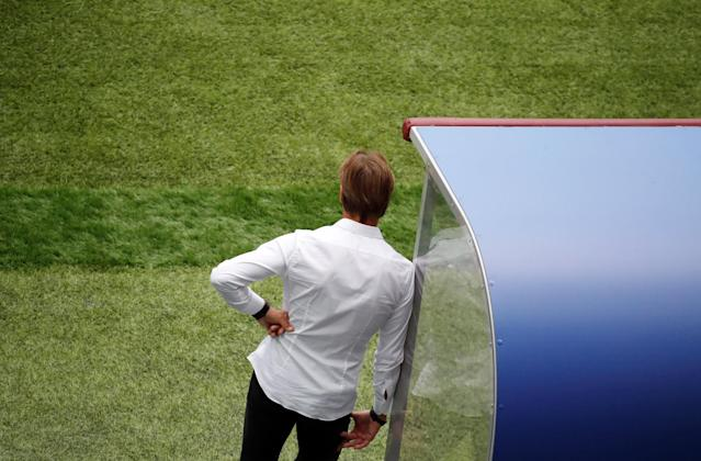 Soccer Football - World Cup - Group B - Portugal vs Morocco - Luzhniki Stadium, Moscow, Russia - June 20, 2018 Morocco coach Herve Renard REUTERS/Christian Hartmann