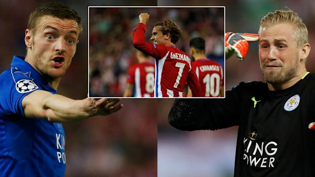 Leicester City suffered a narrow defeat against Atletico Madrid