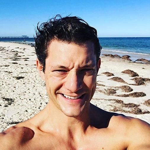 These days, Rob is taking some time off and enjoying life. Photo: Instagram/robmillsymills