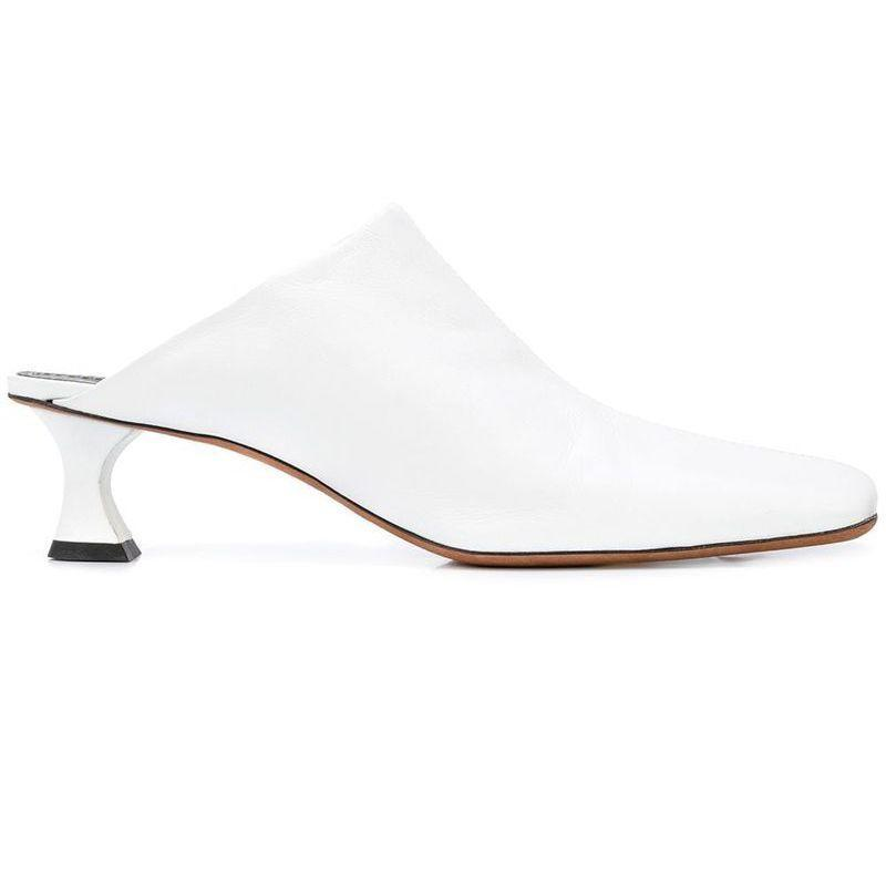 """<p><strong>Proenza Schouler</strong></p><p>farfetch.com</p><p><strong>$640.00</strong></p><p><a href=""""https://go.redirectingat.com?id=74968X1596630&url=https%3A%2F%2Fwww.farfetch.com%2Fshopping%2Fwomen%2Fproenza-schouler-square-toe-45-mules-item-14637014.aspx&sref=https%3A%2F%2Fwww.harpersbazaar.com%2Ffashion%2Ftrends%2Fg31749966%2Fsummer-2020-shoe-trends%2F"""" rel=""""nofollow noopener"""" target=""""_blank"""" data-ylk=""""slk:Shop Now"""" class=""""link rapid-noclick-resp"""">Shop Now</a></p><p>Mules are going square toe, too, and we're here for it.</p>"""