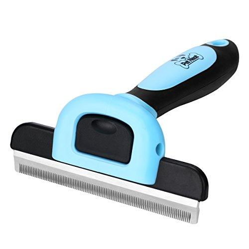 Pet Grooming Brush Effectively Reduces Shedding by Up to 95% Professional Deshedding Tool for Dogs and Cats (Amazon / Amazon)