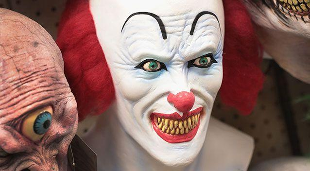 The man donned a clown mask to 'discipline' his daughter. File pic. Source: Getty Images