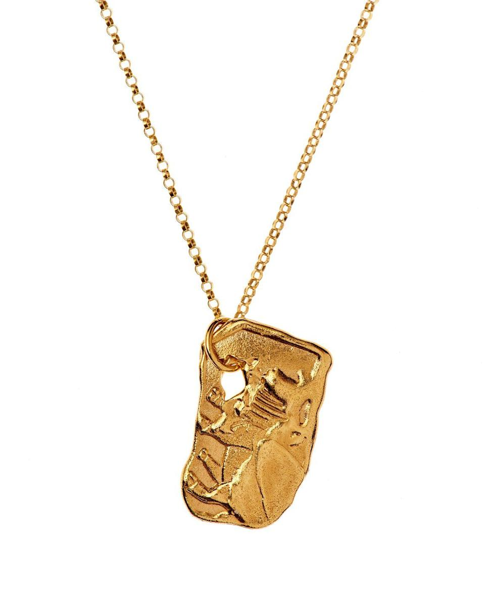 """<p>Alighieri has created a modern heirloom that marks the new year. Depicting an ox in plated gold, it ensures the wearer carries the strength of the zodiac animal with them.</p><p>Year of the Ox pendant, £195, Alighieri.</p><p><a class=""""link rapid-noclick-resp"""" href=""""https://shop.alighieri.co.uk/products/year-of-the-ox?variant=31180602146914¤cy=GBP&gclid=CjwKCAiAi_D_BRApEiwASslbJ46e-XWMFhJFrHkib4ULTkbNZ3nYzPOq4-DrhO55FQ8X0vohJCsPmxoC3JkQAvD_BwE"""" rel=""""nofollow noopener"""" target=""""_blank"""" data-ylk=""""slk:SHOP NOW"""">SHOP NOW</a></p>"""