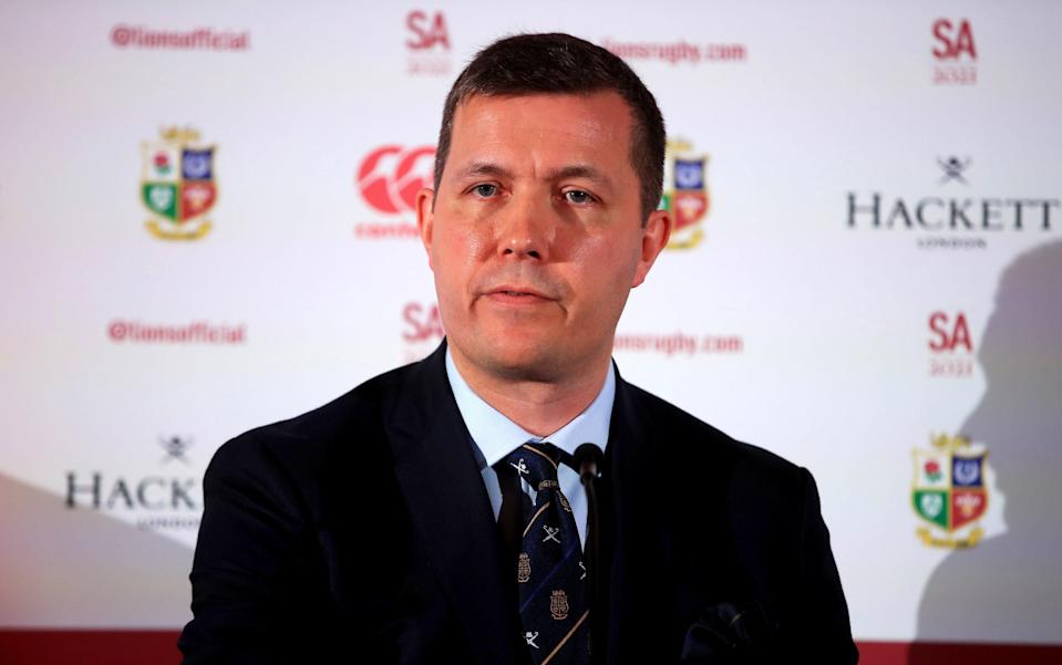 British and Irish Lions managing director Ben Calveley hopes to reach an agreement with Premiership Rugby (PA)