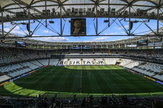 The home of Besiktas in Istanbul, where Liverpool and Chelsea clash in the Super Cup on Wednesday (AFP Photo/Ozan KOSE)