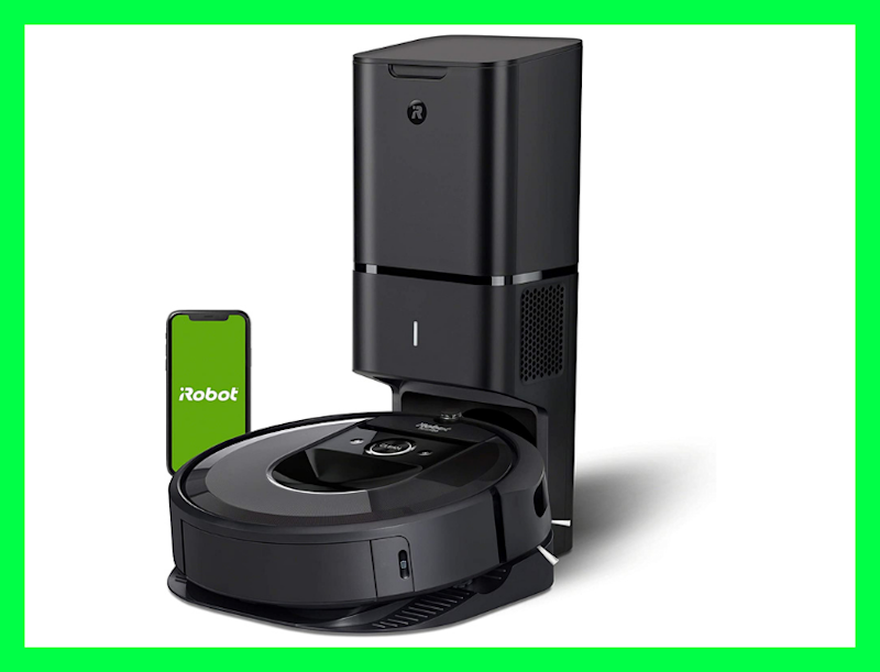 iRobot Roomba i7+ (7550) Robot Vacuum. (Photo: Amazon)
