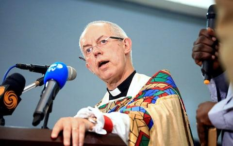 Justin Welby has now been criticised over his own handling of a sex scandal