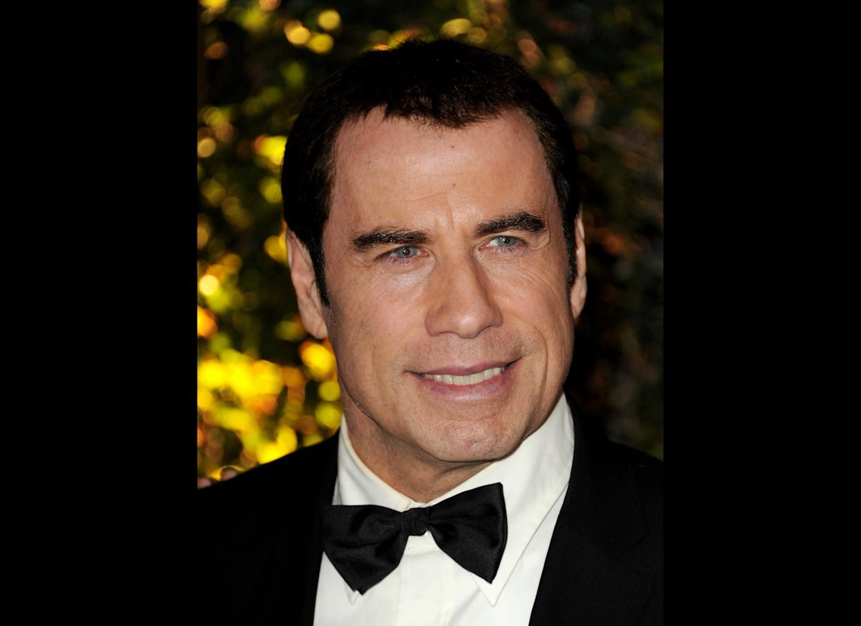 """""""How am I suppose to stand out when everyone get dressed up/So yeah at the Grammys I went ultra <strong>Travolta</strong>"""" <br> --""""The Glory"""""""