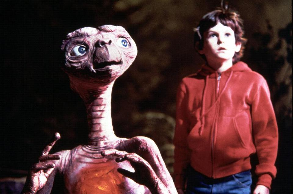 """<a href=""""http://movies.yahoo.com/movie/et-the-extraterrestrial/"""" data-ylk=""""slk:E.T. THE EXTRA-TERRESTRIAL"""" class=""""link rapid-noclick-resp"""">E.T. THE EXTRA-TERRESTRIAL</a> (1982)<br>Directed by: <span>Steven Spielberg</span> <br>Starring: <span>Dee Wallace Stone</span>, <span>Henry Thomas</span> and <span>Peter Coyote</span>"""