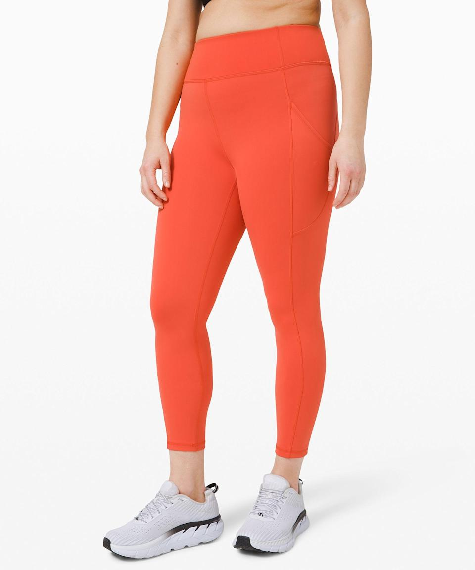 "<p><strong>Lululemon</strong></p><p>lululemon.com</p><p><a href=""https://go.redirectingat.com?id=74968X1596630&url=https%3A%2F%2Fshop.lululemon.com%2Fp%2Fwomens-leggings%2FInvigorate-HR-Tight-25-MD%2F_%2Fprod9890061&sref=https%3A%2F%2Fwww.redbookmag.com%2Ffashion%2Fg34807115%2Flululemon-black-friday-deals-2020%2F"" rel=""nofollow noopener"" target=""_blank"" data-ylk=""slk:Shop Now"" class=""link rapid-noclick-resp"">Shop Now</a></p><p><strong><del>$128</del> $79</strong></p><p>These high-rise ones come in a quick-drying fabric that will change your workout game. </p>"