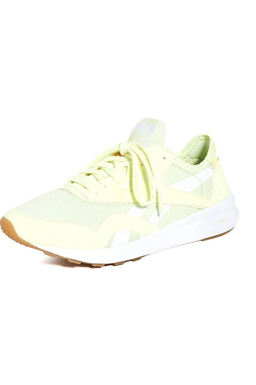 """<p><strong>Reebok</strong></p><p>amazon.com</p><p><strong>75.00</strong></p><p><a href=""""https://www.amazon.com/dp/B093THXL3P?tag=syn-yahoo-20&ascsubtag=%5Bartid%7C10049.g.36746335%5Bsrc%7Cyahoo-us"""" rel=""""nofollow noopener"""" target=""""_blank"""" data-ylk=""""slk:Shop Now"""" class=""""link rapid-noclick-resp"""">Shop Now</a></p><p>How cute are these highlighter-hued sneakers? If you want to switch up your classic neutral kicks, consider this pair right here. </p>"""