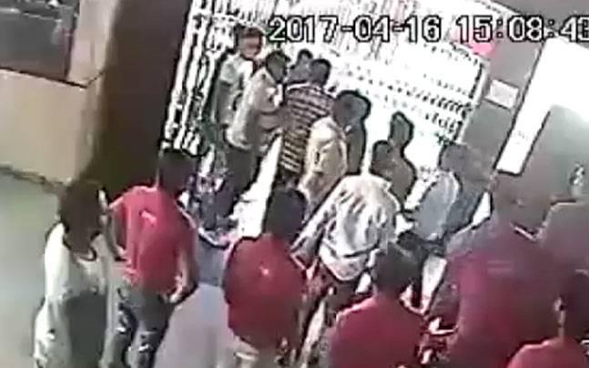 Rajasthan: CCTV catches BJP youth wing leader vandalising cinema hall over frisking