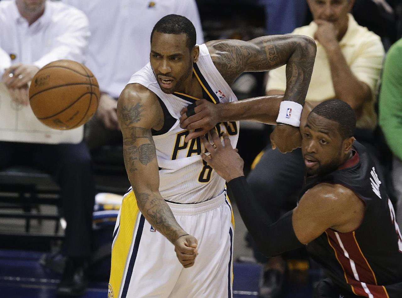 NBA Eastern Conference finals - Pacers vs. Heat