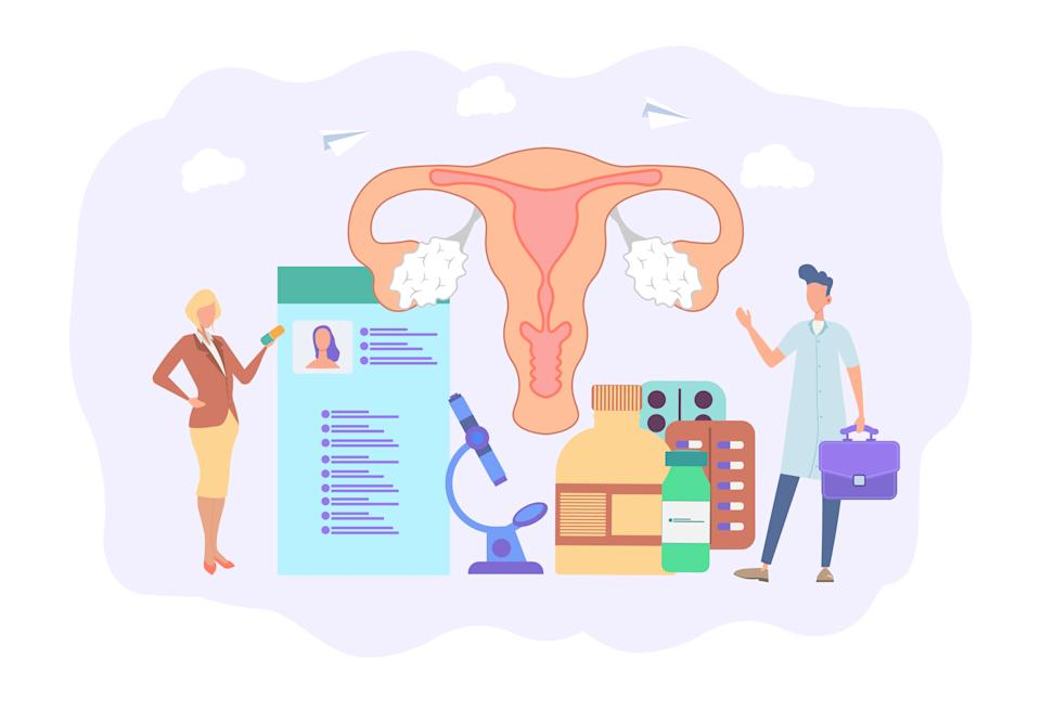 The female reproductive system. (PHOTO: Getty Images)