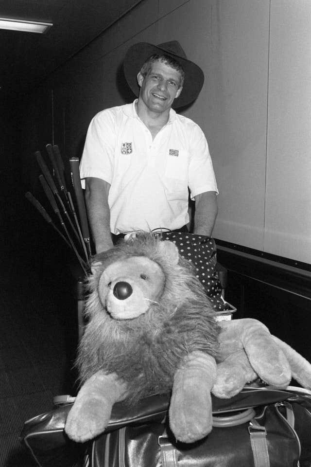 Finlay Calder led the 1989 Lions to victory over Australia - the only time they have come from behind to win a Test series