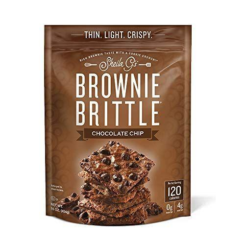 """<p><strong>Brownie Brittle</strong></p><p>amazon.com</p><p><strong>$23.49</strong></p><p><a href=""""https://www.amazon.com/dp/B015E9A4IO?tag=syn-yahoo-20&ascsubtag=%5Bartid%7C1782.g.4497%5Bsrc%7Cyahoo-us"""" rel=""""nofollow noopener"""" target=""""_blank"""" data-ylk=""""slk:BUY NOW"""" class=""""link rapid-noclick-resp"""">BUY NOW</a></p><p>There is so much chocolatey goodness packed into this brownie brittle...and only 120 calories per serving.</p>"""