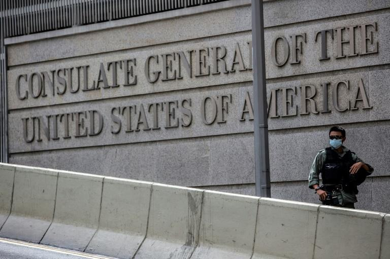 US consulate employee attacked in Hong Kong