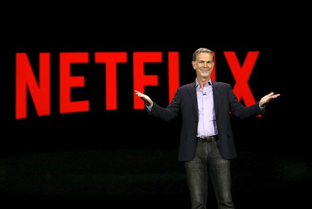 Reed Hastings, co-founder and CEO of Netflix. REUTERS/Steve Marcus