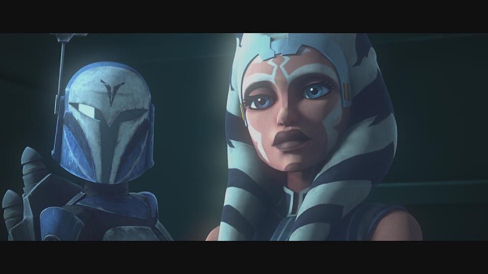 A still from <i>Star Wars: The Clone Wars</i>. (Disney+)