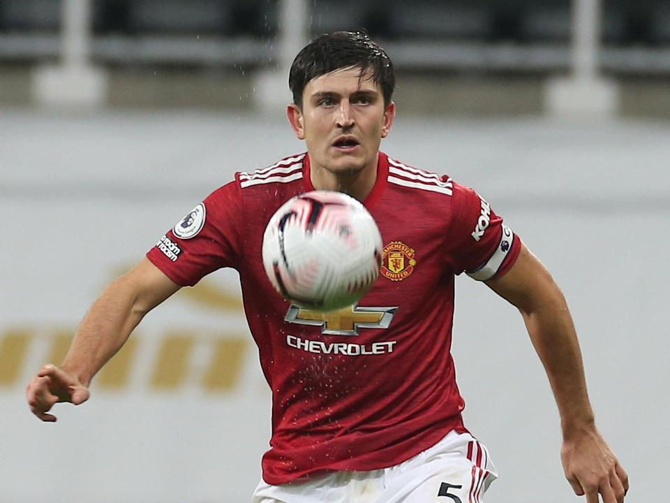 Manchester United captain Harry Maguire (Manchester United via Getty Imag)