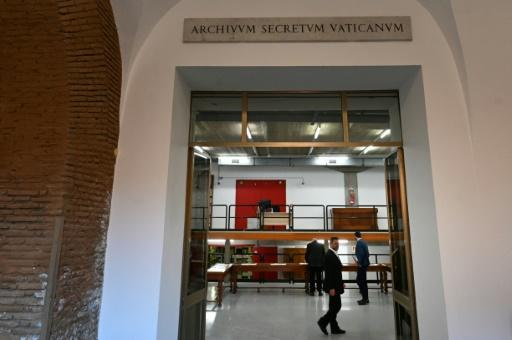 The entrance of the Vatican Apostolic Secret Archive