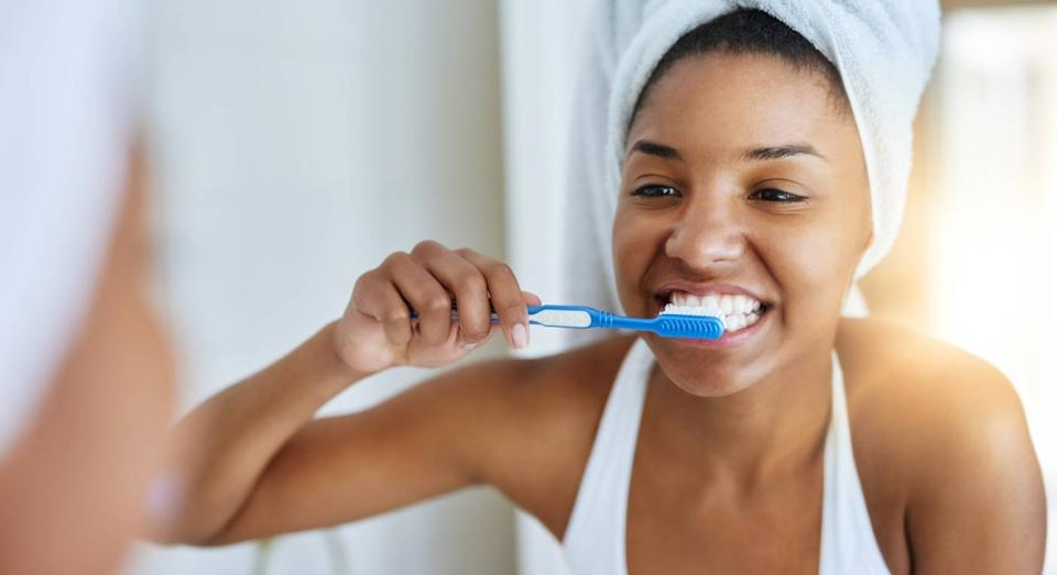 This top-rated toothbrush is half price. (Getty Images)