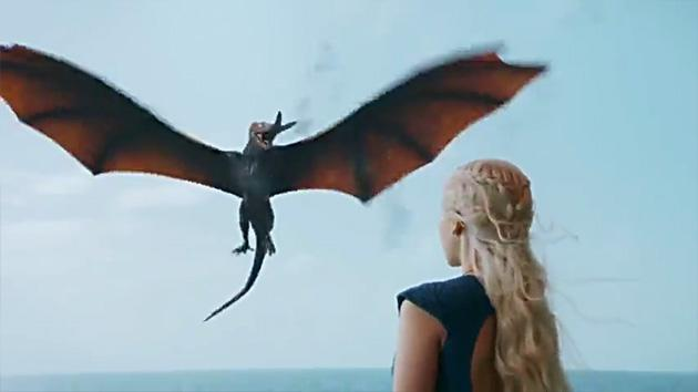 """Game of Thrones"" Season 3 Dragons"