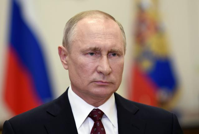 The figures came hours before president Vladimir Putin is due to review the country's lockdown restrictions on Monday. (AP)