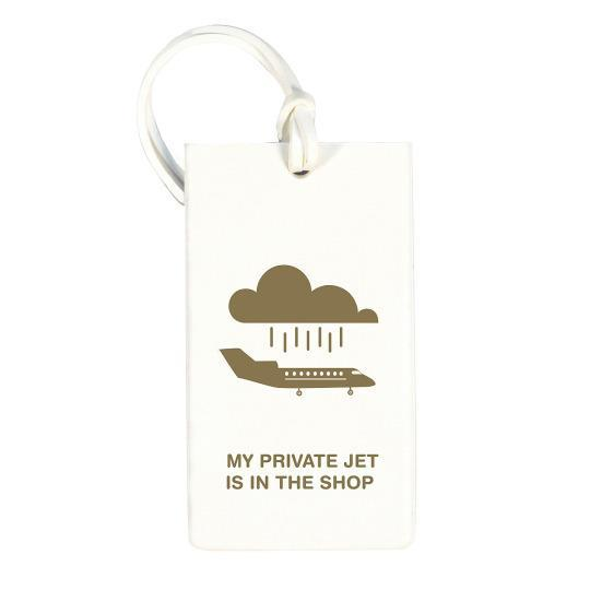 "<p>This easy-to-spot rubber <a href=""http://www.flight001.com/essentials/id-holders/luggage-tags.html"" rel=""nofollow noopener"" target=""_blank"" data-ylk=""slk:tag"" class=""link rapid-noclick-resp"">tag</a> makes it easy to see your suitcase from across the baggage carousel.</p>"