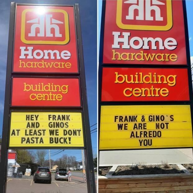 Home Hardware didn't hold back.