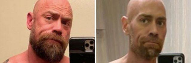 Mike Schultz before and after photos