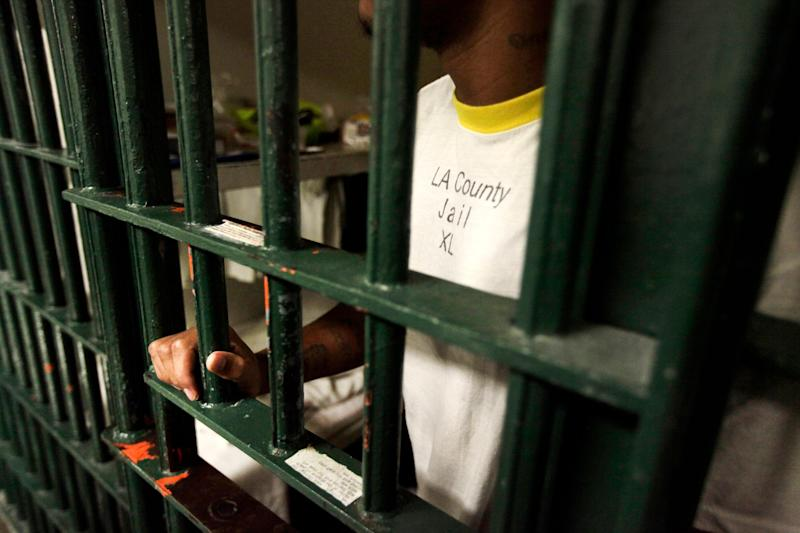 TheCOVID-19 Rapid Response initiative is pushing for the release of inmates from Los Angeles County jails. Many incarcerated people are vulnerable to coronavirus, and overcrowding increases the likelihood it will spread. (Photo: Reed Saxon/ASSOCIATED PRESS)