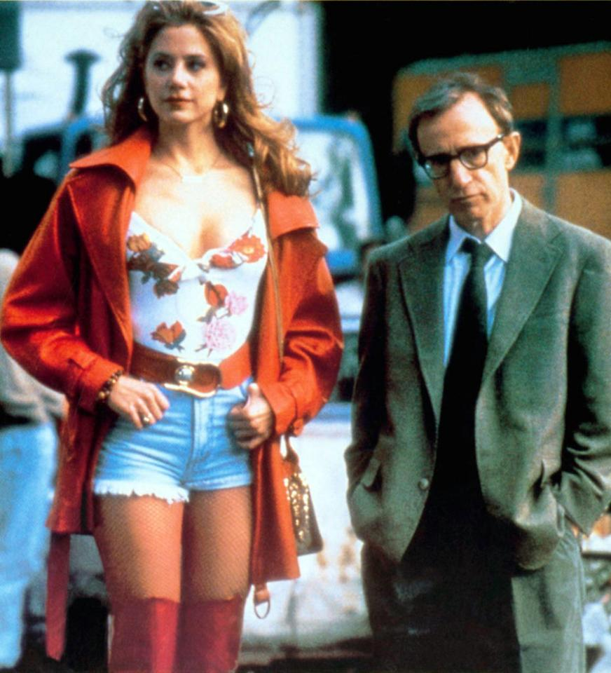"Mira Sorvino, 'Mighty Aphrodite' (Best Supporting Actress, 1995)  In his romantic comedy inspired by ""Pygmalion,"" Woody Allen plays a sportswriter who tracks down his adopted son's biological mother: Linda, a dim-witted prostitute who stars in porn flicks because she aspires to be an actress."