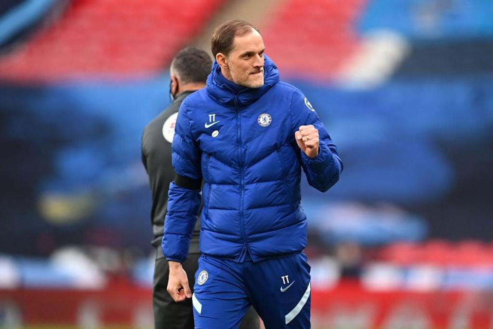 <p>Tuchel has reached a domestic final and a European semi-final just months after taking charge</p> (The FA via Getty Images)