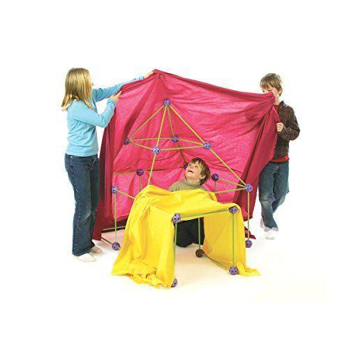 """<p><strong>Crazy Forts</strong></p><p>amazon.com</p><p><strong>$42.99</strong></p><p><a href=""""https://www.amazon.com/dp/B001DNHYC0?tag=syn-yahoo-20&ascsubtag=%5Bartid%7C10055.g.28133058%5Bsrc%7Cyahoo-us"""" rel=""""nofollow noopener"""" target=""""_blank"""" data-ylk=""""slk:Shop Now"""" class=""""link rapid-noclick-resp"""">Shop Now</a></p><p>Take those blanket forts to the next level with this set of rods and connectors (no more using the couch and chairs). <strong>She can build a rocket one day, and a castle tower the next.</strong> It comes with nearly 70 pieces, but blankets are not included. <em>Ages 5+</em></p>"""